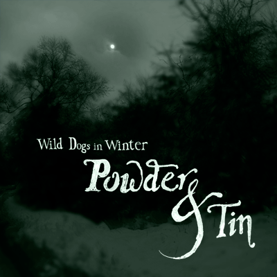 mam111 - Wild Dogs in Winter - Powder & Tin
