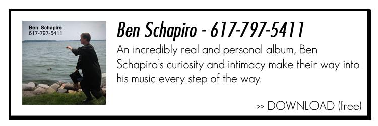 Ben Schapiro - 617-797-5411