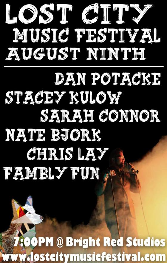 Comedy at the Lost City Music Festival 2013!