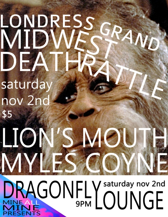 Midwest Death Rattle Poster